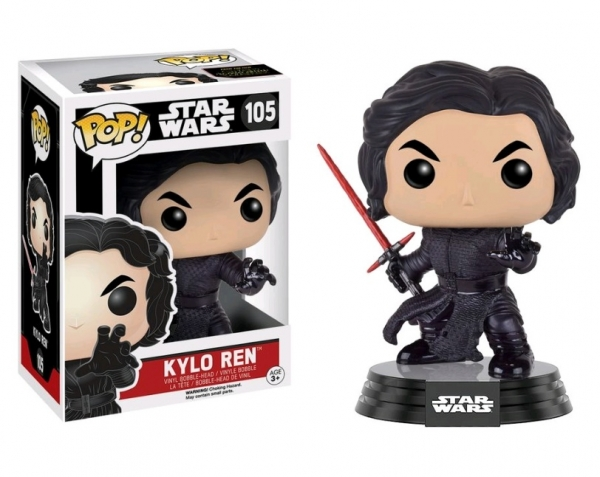 POP STAR WARS #105 Kylo Ren Battle Pose