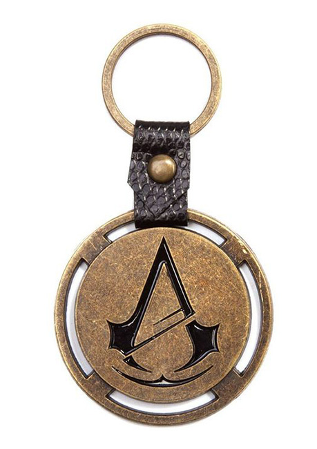 Porta-Chaves ASSASSINS CREED Unity Bronze Logo Metal