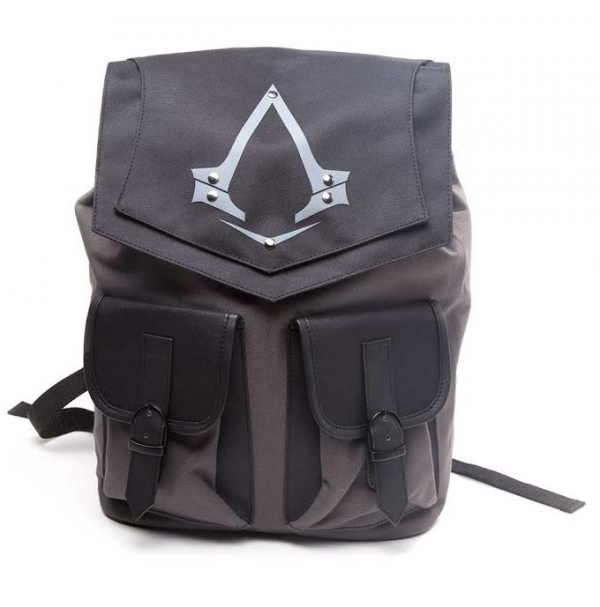 Mochila ASSASSINS CREED Double Front Pockets Black