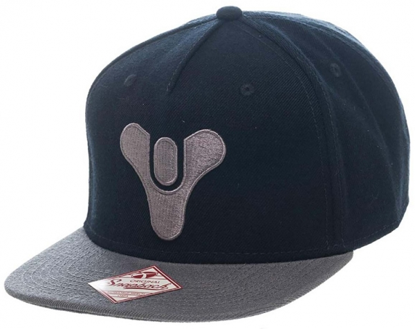 Boné DESTINY Embroided Logo Black Snapback