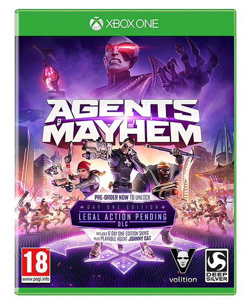 AGENTS OF MAYHEM Day One Edition XBOX ONE