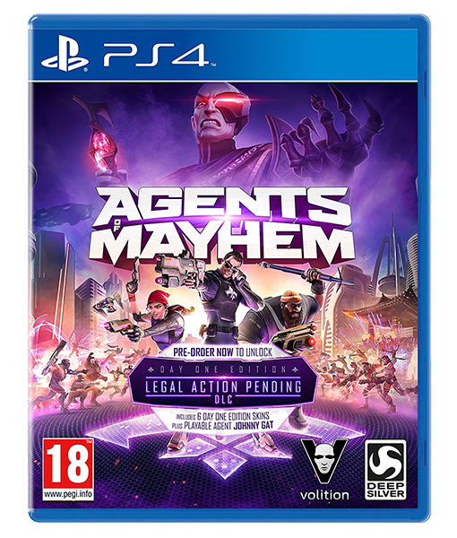 AGENTS OF MAYHEM Day One Edition PS4
