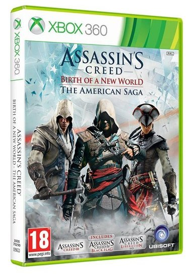 ASSASSINS CREED BIRTH OF A NEW WORLD - The American Saga Collection XB360