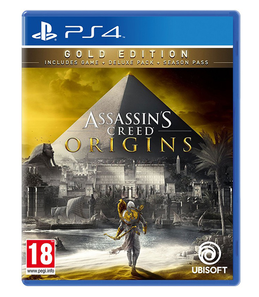 ASSASSINS CREED ORIGINS Gold Edition (EM PORTUGUÊS) PS4