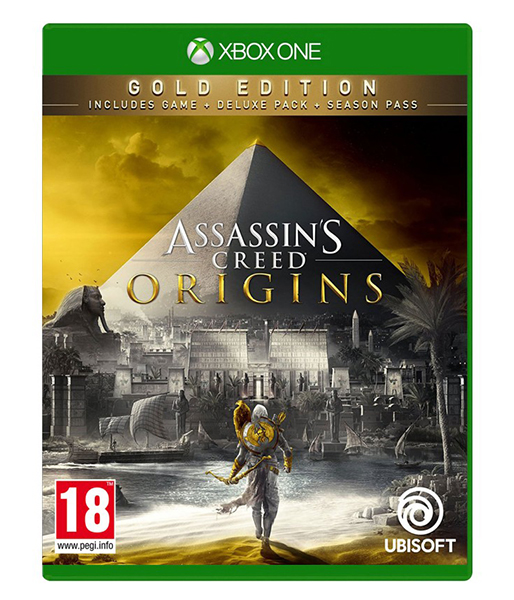 ASSASSINS CREED ORIGINS Gold Edition (EM PORTUGUÊS) XBOX ONE