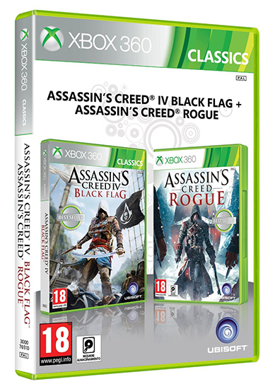 ASSASSINS CREED Pack Duplo 3 (EM PORTUGUÊS) XB360