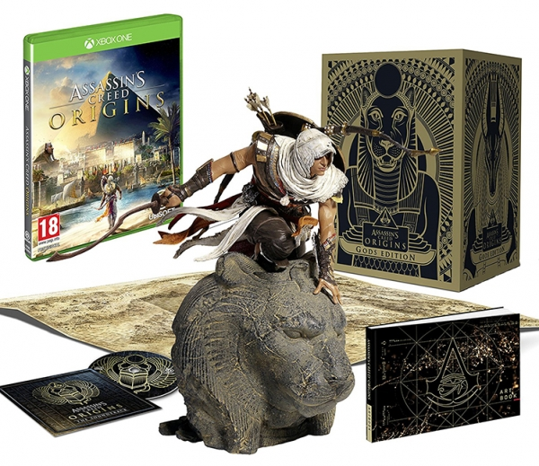 ASSASSINS CREED ORIGINS Gods Edition (EM PORTUGUÊS) XBOX ONE