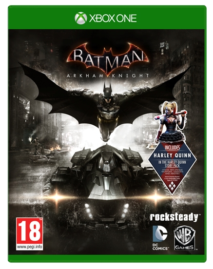 BATMAN ARKHAM KNIGHT (Oferta DLC) XBOX ONE
