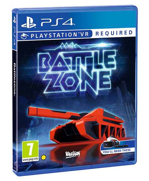 VR BATTLEZONE PS4