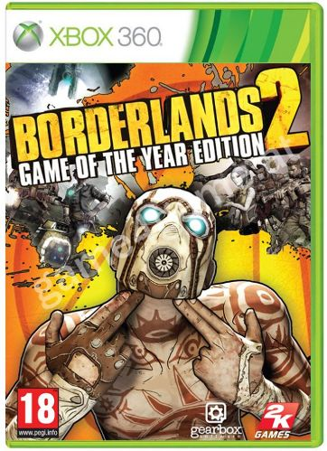 BORDERLANDS 2 Game of The Year Edition XB360