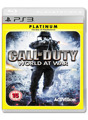CALL OF DUTY 5 WORLD AT WAR Platinum PS3