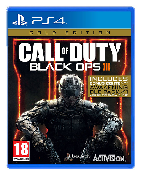 CALL OF DUTY BLACK OPS 3 Gold Edition PS4
