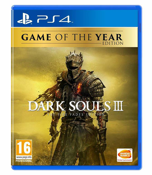 DARK SOULS 3 The Fire Fades Edition GOTY PS4