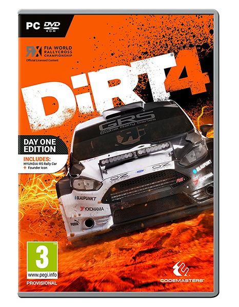 DIRT 4 Day One Edition [Download] PC