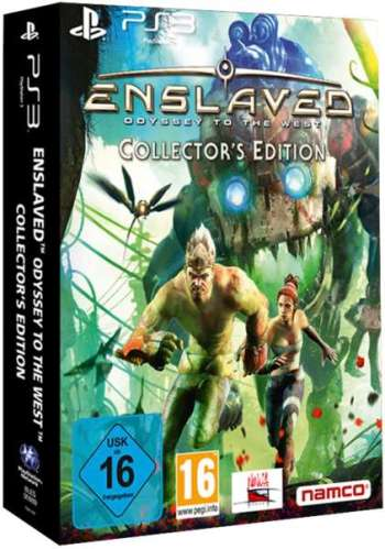ENSLAVED ODYSSEY TO THE WEST Collector's Edition PS3