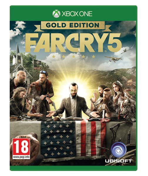 FAR CRY 5 Gold Edition (Oferrta DLC)  XBOX ONE