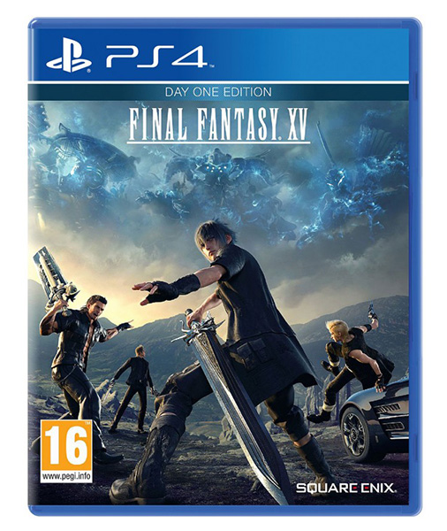 FINAL FANTASY XV Day One Edition (EM PORTUGUÊS) [Oferta DLCs] PS4