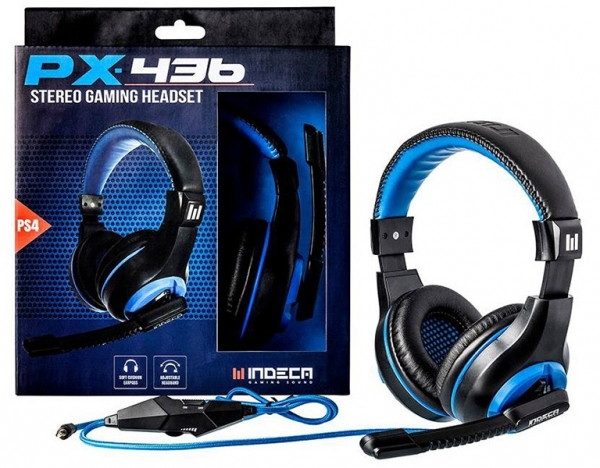 AUSCULTADORES GAMING INDECA PX436 PS4