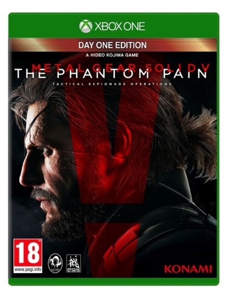 METAL GEAR SOLID V THE PHANTOM PAIN Day One Edition (EM PORTUGUÊS) XBOX ONE