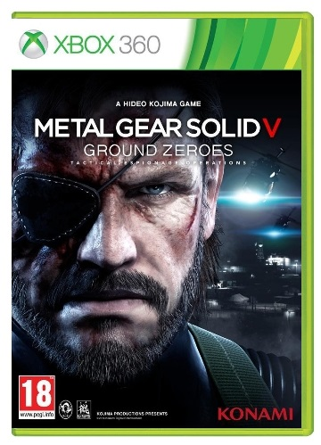 METAL GEAR SOLID V GROUND ZEROES XB360