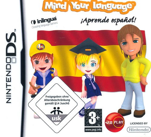 MIND YOUR LANGUAGE - APRENDE ESPANHOL DS