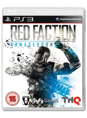RED FACTION ARMAGGEDON PS3