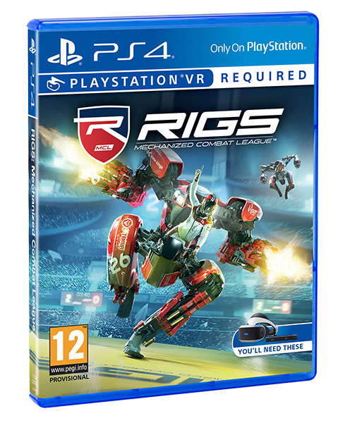 VR RIGS MECHANIZED COMBAT LEAGUE PS4