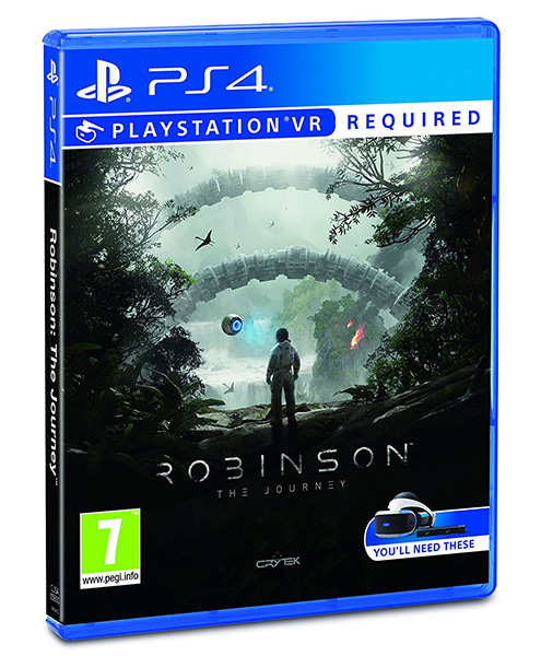VR ROBINSON THE JOURNEY PS4