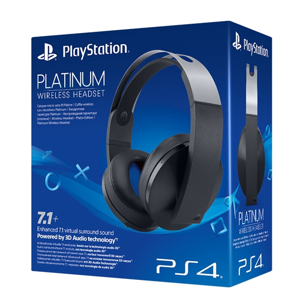 PS3/PS4/PSVITA/PC/MAC AUSCULTADORES GAMING SONY WIRELESS Platinum