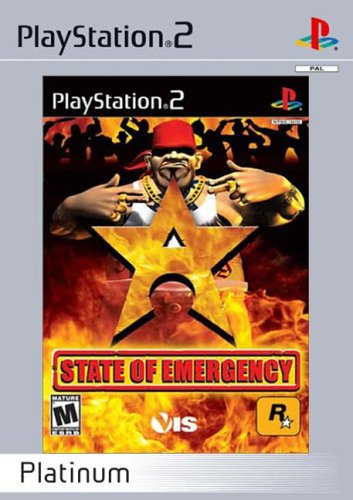 STATE OF EMERGENCY - Platinum PS2