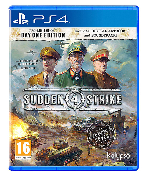 SUDDEN STRIKE 4 Limited Day One Edition PS4