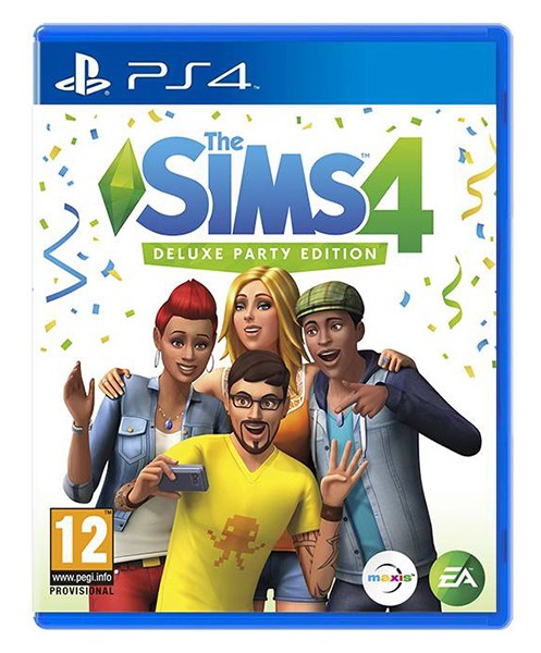 THE SIMS 4 Deluxe Party Edition (EM PORTUGUÊS)  PS4