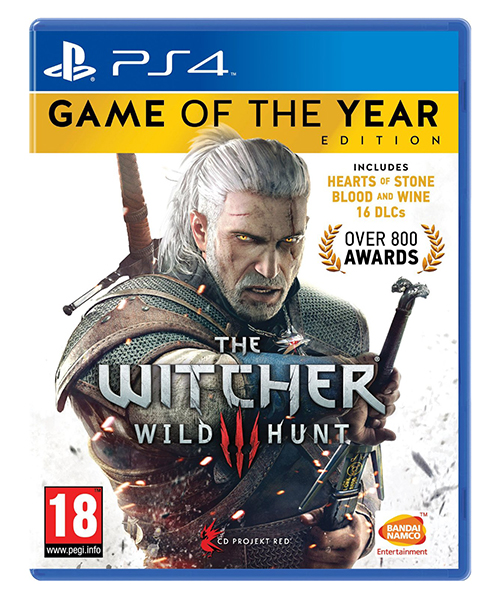 THE WITCHER 3 WILD HUNT Game of The Year Edition PS4/PS5