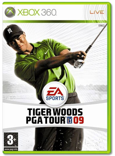 TIGER WOODS: PGA TOUR GOLF 09 XB360