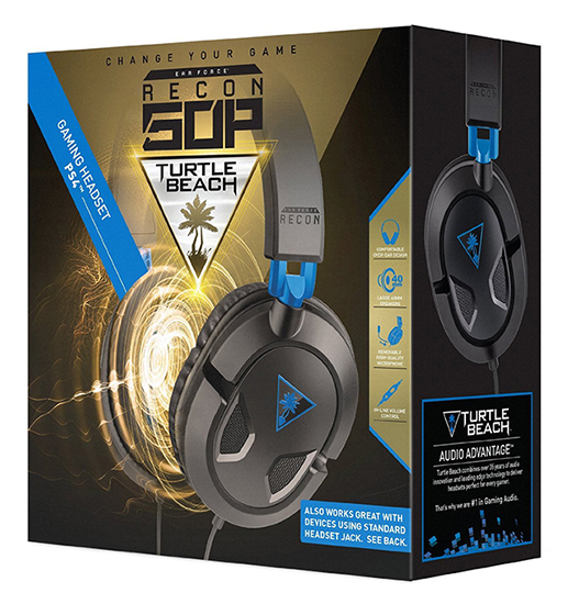 AUSCULTADORES GAMING TURTLE BEACH Ear Force RECON 50P