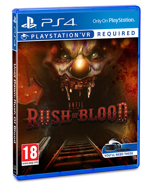 VR UNTIL DAWN RUSH OF BLOOD PS4