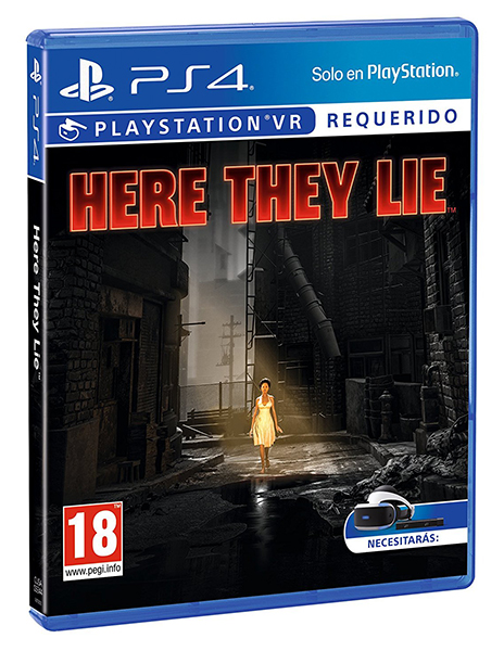 VR HERE THEY LIE PS4