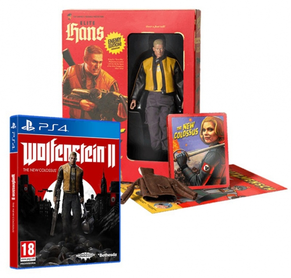 WOLFENSTEIN II THE NEW COLOSSUS Collectors Edition PS4