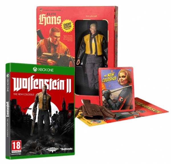WOLFENSTEIN II THE NEW COLOSSUS Collectors Edition XBOX ONE
