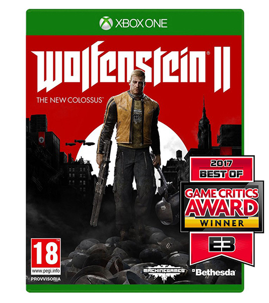 WOLFENSTEIN II THE NEW COLOSSUS (Oferta Banda Sonora e T-Shirt) XBOX ONE