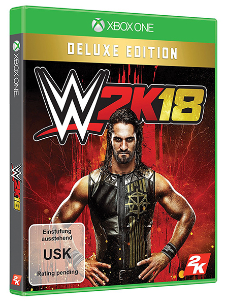 WWE 2K18 Deluxe Edition (Oferta DLC) XBOX ONE