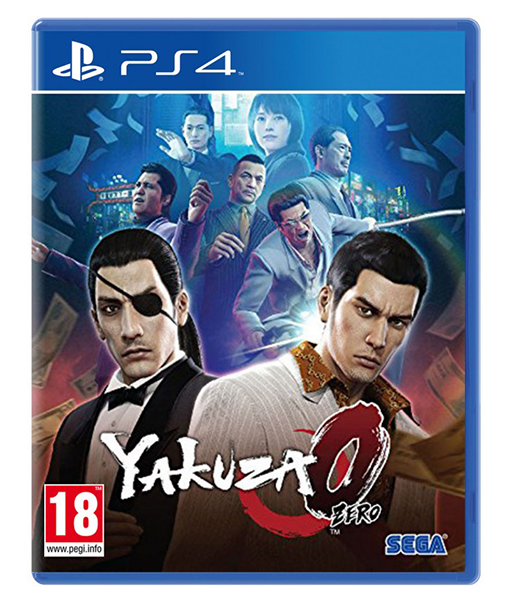 YAKUZA 0 HITS PS4